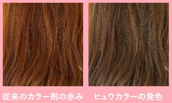 発色の違い