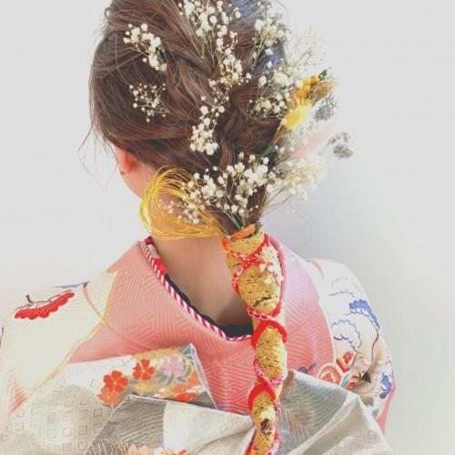 成人式hairstyle